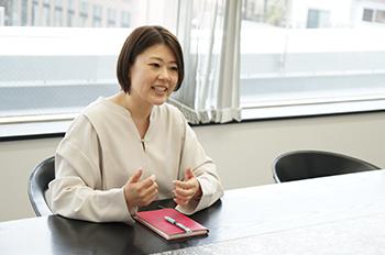 資格サポートセンター 担当 Mさん インタビューの様子