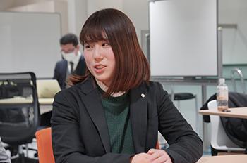 UMEDAI事業部 Sさん インタビューの様子